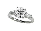 Finejewelers Diamond Baguette Ring (Center Not Included) Style number: 4965