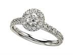 Finejewelers Diamond Round Engagement Ring Style number: 4992
