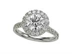 Finejewelers Diamond Round Ring Style number: 4994