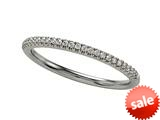 Finejewelers Comfort Fit Diamond Round Pave Band style: 6253D
