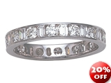 Karina B™ Baguette Diamonds Eternity Band style: 8101
