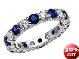 Karina B™ Genuine Sapphire Eternity Band style: 8236S