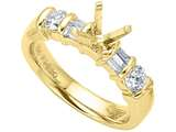 Karina B™ Baguette Diamonds Engagement Ring style: 2031
