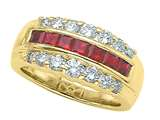 Karina B™ Genuine Ruby Band style: 2038R