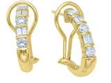 Karina B™ Baguette Diamonds Earrings style: 2047