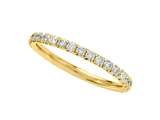 Round Diamonds French Pave Eternity Band style: 2049
