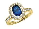 Sapphire Engagement Ring style: 4829