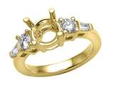 Finejewelers Baguette Diamonds Engagement Ring style: 4844