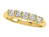 Round Diamond Band style: 4968