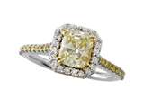 Finejewelers Natural FY Diamond Ring style: 4973