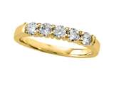 Diamond Round Partial Way Band style: 4976D