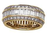 Karina B™ Baguette Diamonds Eternity Band style: 8005