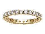Karina B™ Round Diamonds Shared Prongs Eternity Band style: 8009