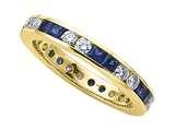 Karina B™ Genuine Sapphire Eternity Band style: 8012S