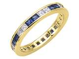 Karina B™ Genuine Sapphire Eternity Band style: 8021DS