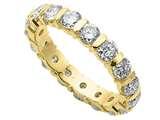 Karina B™ Round Diamonds Eternity Band style: 8026D