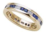 Karina B™ Genuine Sapphire Eternity Band style: 8028S