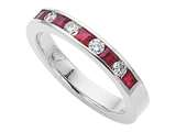 Karina B™ Genuine Ruby Band style: 8035R