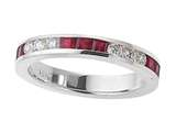 Karina B™ Genuine Ruby Band style: 8037R