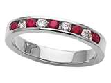 Karina B™ Genuine Ruby Band style: 8038R