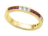 Karina B™ Genuine Ruby Band style: 8040R