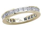 Karina B™ Princess Diamonds Eternity Band style: 8054