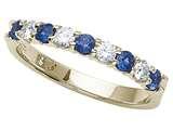 Karina B™ Genuine Sapphire Band style: 8066S