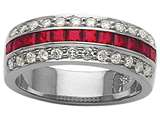 Karina B™ Genuine Ruby Band style: 8067R