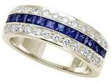 Karina B™ Sapphire Band style: 8067S