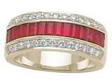 Karina B™ Genuine Ruby Band style: 8068R