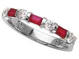 Karina B™ Genuine Ruby Band style: 8070R