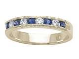 Karina B™ Genuine Sapphire Band style: 8074S