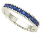 Karina B™ Sapphire Band style: 8077S
