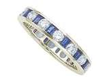 Karina B™ Genuine Sapphire Eternity Band style: 8100S