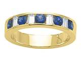 Karina B™ Genuine Sapphire Band style: 8102S