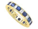 Karina B™ Genuine Sapphire Eternity Band style: 8104S