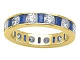 Karina B™ Genuine Sapphire Eternity Band style: 8105S