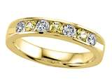 Karina B™ Round Diamond and Yellow Sapphire Band style: 8109Y