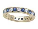 Karina B™ Genuine Sapphire Eternity Band style: 8110S