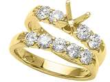 Karina B™ Wedding Band / Ring style: 8132SET