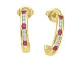 Karina B™ Ruby Earrings style: 8138R