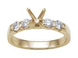 Karina B™ Round Diamonds Engagement Ring style: 8159