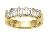 Karina B™ Emerald Cut Diamonds Band style: 8163
