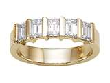 Karina B™ Emerald Cut Diamonds Band style: 8164
