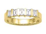 Karina B™ Emerald Cut Diamonds Band style: 8165