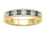 Karina B™ Genuine Sapphire Band style: 8167S