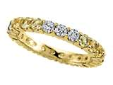 Karina B™ Yellow Sapphire Eternity Band style: 8266Y